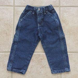 Wrangler Boys Dark Wash Carpenter Jeans